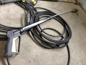 高圧洗浄機ホース 修理